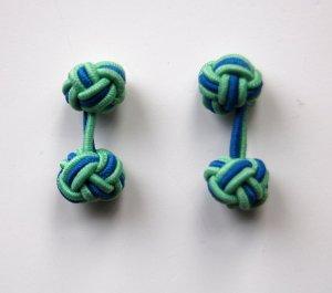 Knoten-Mannschettenknöpfe