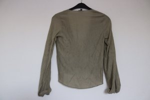 Topshop Wraparound Blouse multicolored