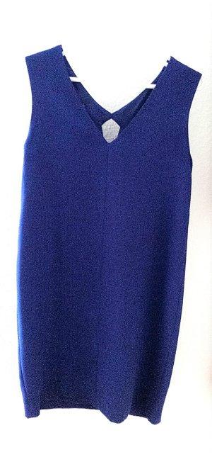 Kobaltblaues Kleid mit Cut-out von Mango, Gr. 36