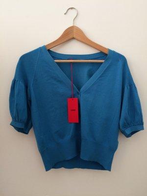 Kobaltblaues Oberteil/ Jacke von Hugo Boss Größe S