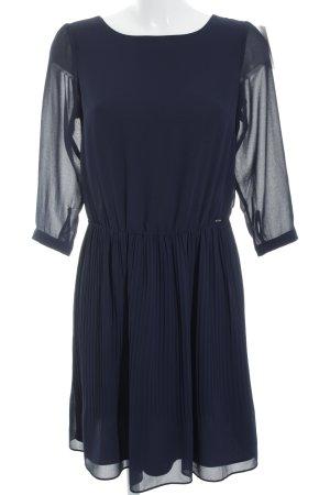 Kocca Langarmkleid blau-silberfarben Elegant