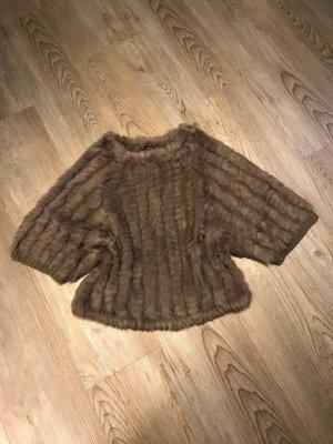 Kocca Pullover mit Echtfell