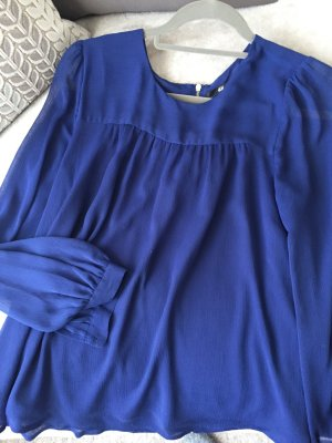 Königsblaue Bluse H&M