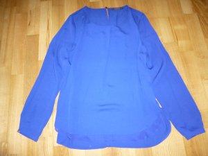 Königsblaue Bluse im Layer-Look von Esprit