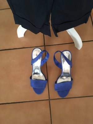 H&M High Heel Sandal steel blue