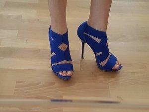 Zara High Heel Sandal blue