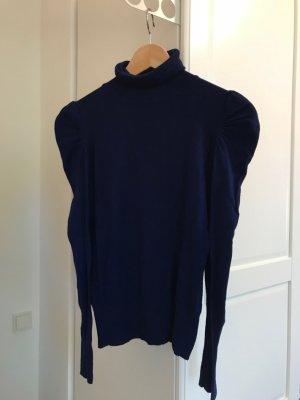 königsblauer Rollkragen Pullover von Hallhuber