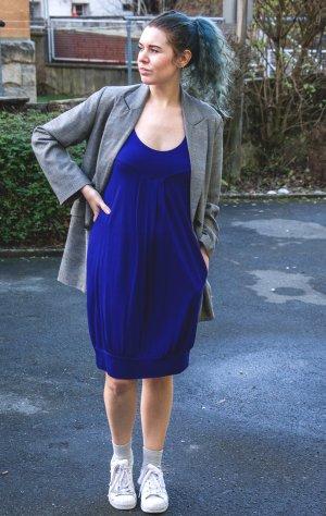 Zara vestido de globo azul