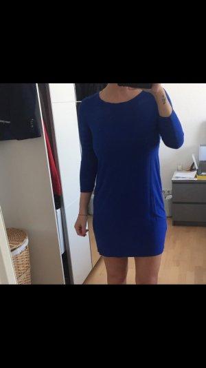 Königsblaues Mango Kleid