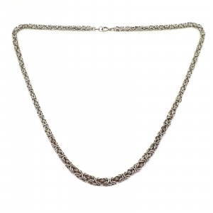 Königskette MASSIV 935 Silber Silberkette Collier