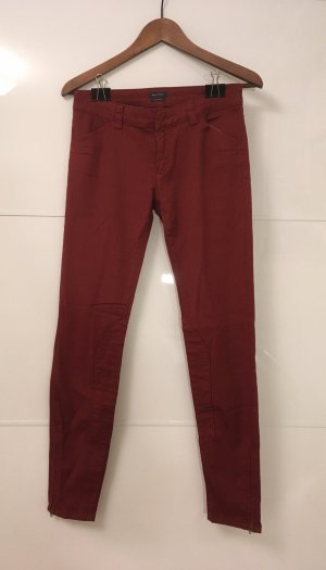 Marc O'Polo Pantalon d'équitation bordeau