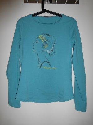 körperbetontes Longsleeve Shirt