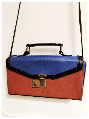 Koffer Umhängetasche Vintage-Look