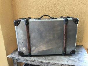 Koffer Unikat Metall Holz Leder urban vintage  shabby