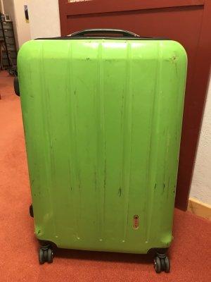 Koffer von 'Check In' Kiwigrün
