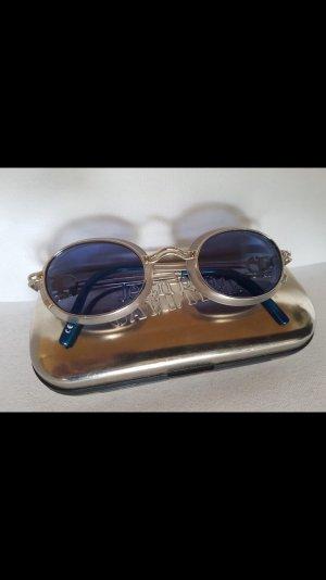 Jean Paul Gaultier Bril zilver-staalblauw