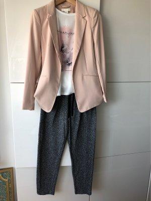 Kombi aus Blazer, Shirt, Jersey Hose, gr36