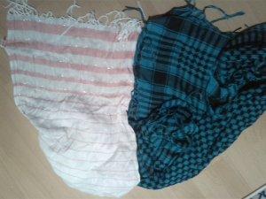 Kombi aus Schal und Tuch