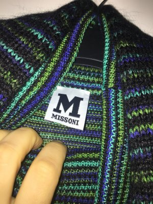 Missoni Turtleneck Sweater green-dark blue