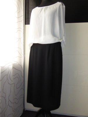 Kombi: Elegante Bluse und Rock Gr. 46/48 XL - Elegante Rockabella - Vintage