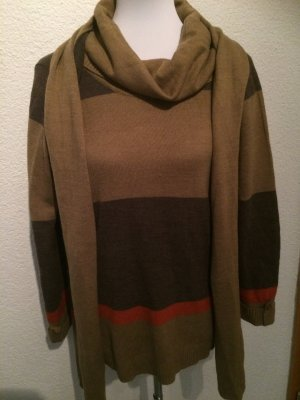 Amy Vermont Crewneck Sweater multicolored polyacrylic