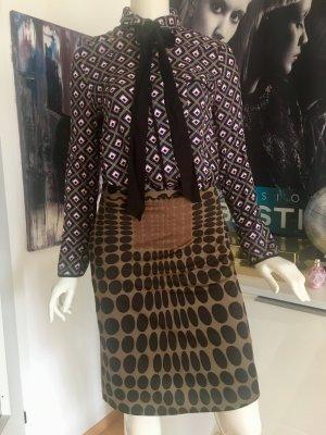 Kombination Blusen LA Shirt schluppe und Rock Maliparmi small