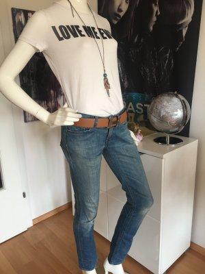 Kombination replay Meets Hallhuber Jeans denim Straight cut mid raise