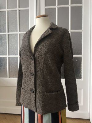 Madeleine Sweat Blazer grey brown