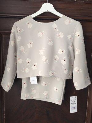 Kombiniertes Outfit von Zara, Croptop und Culotte