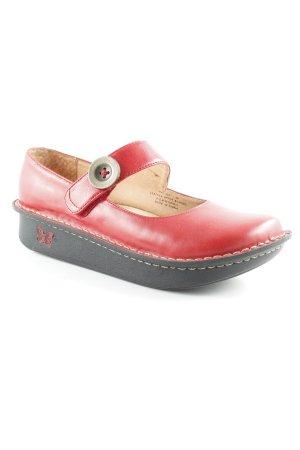 Comfort Sandals dark red-black simple style