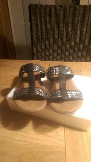 Komfort .Sandalen schwarz