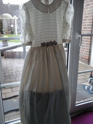 Kommunion -Kleid aus Seide