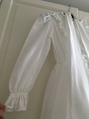 Abito da ballo bianco Tessuto misto