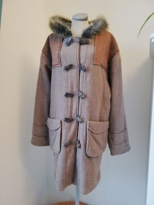 Duffel Coat multicolored wool