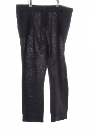 Komodo Linen Pants black casual look