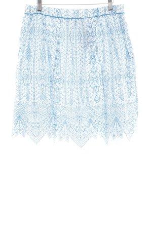 Komodo Midirock weiß-blau abstraktes Muster Hippie-Look