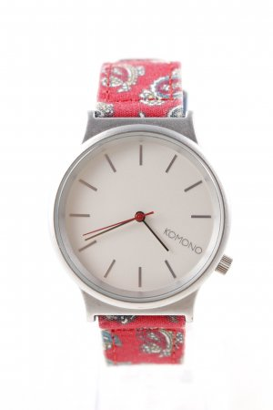 Komono Analog Watch red casual look