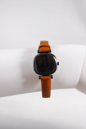Komono Armbanduhr Cognac Schwarz
