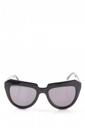 Komono Brille schwarz Elegant
