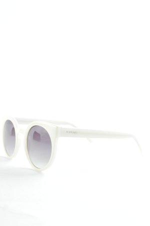 Komono Butterfly Brille weiß-schwarz Casual-Look