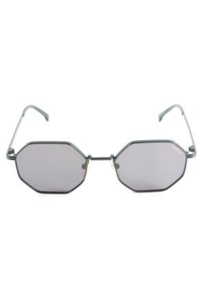 """Komono eckige Sonnenbrille """"The Monroe"""" schwarz"""