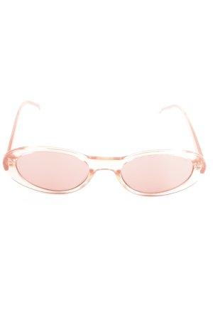 "Komono ovale Sonnenbrille ""The Alina"" rosé"