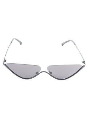 """Komono ovale Sonnenbrille """"The Ash"""" schwarz"""