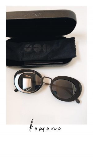 Komono Sonnenbrille Kandice All Black