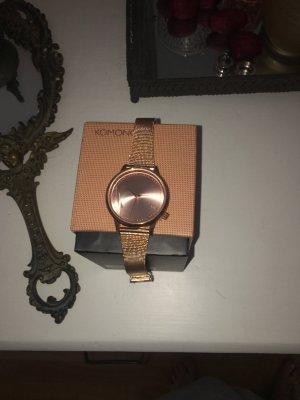 Komono Uhr ungetragen in Rose Gold