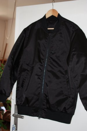 Acne Bomber Jacket black polyester
