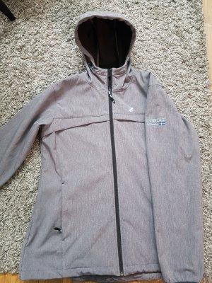 Komplett neue graue Softshell Jacke in Gr. 44 zu verkaufen!