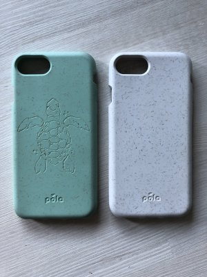 Mobile Phone Case mint-white