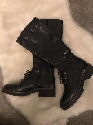 Softwaves Halfhoge laarzen zwart