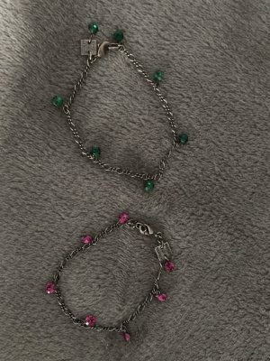 Konplott Armbändchen in den Farben Grün und Pink :)